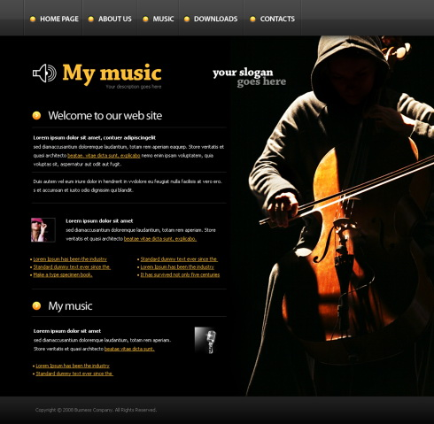 Promovare site muzica
