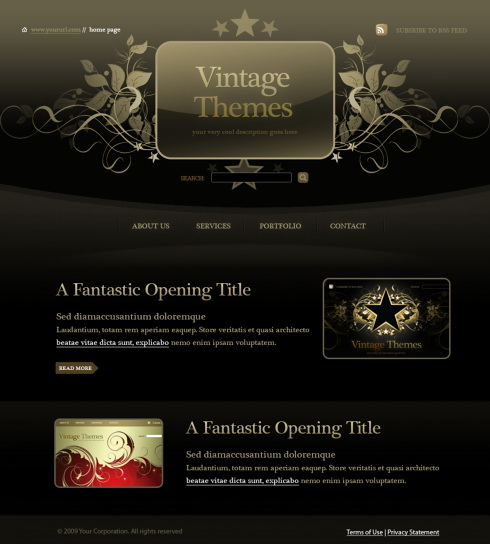 Template Site Web Webdesign