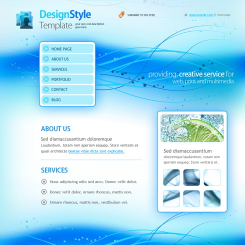 Promovare site abstract