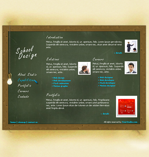 Website Templates Education Kids 0200
