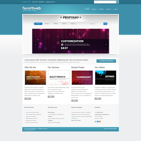  Dynamic XHTML  Corporate  favoritweb 6824
