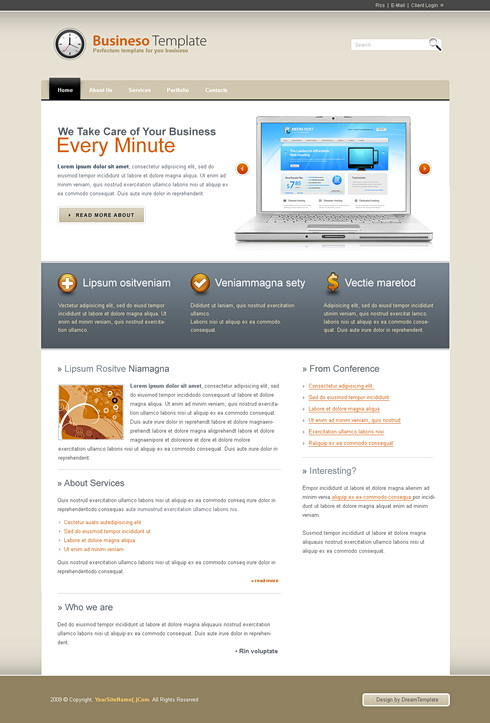 Flash CSS Templates  Flash  CSS Corporate  6797