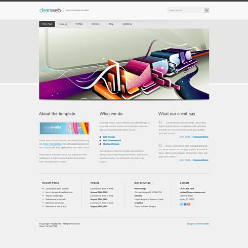 Dream Template - Cleanweb - cuber