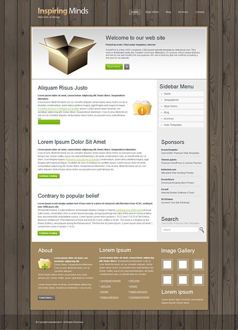 WoodenBlock Retail