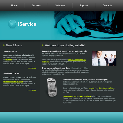 web design templates afaceri, consultanta, it, calculatoare