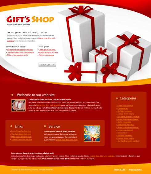 Creare site magazin cadouri online