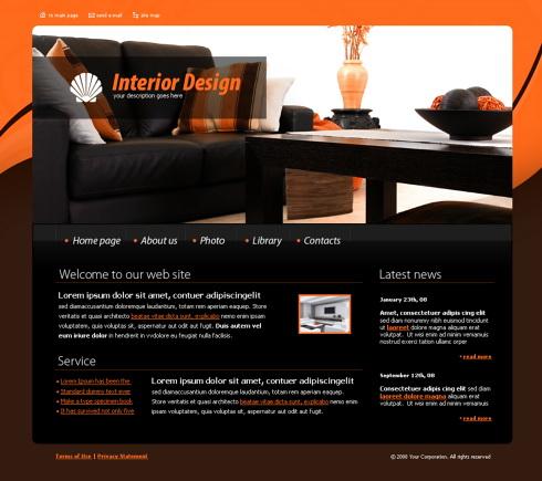 Relizare site fima mobila, mobilier, amenajari interioare, mobila la comanda, design interior