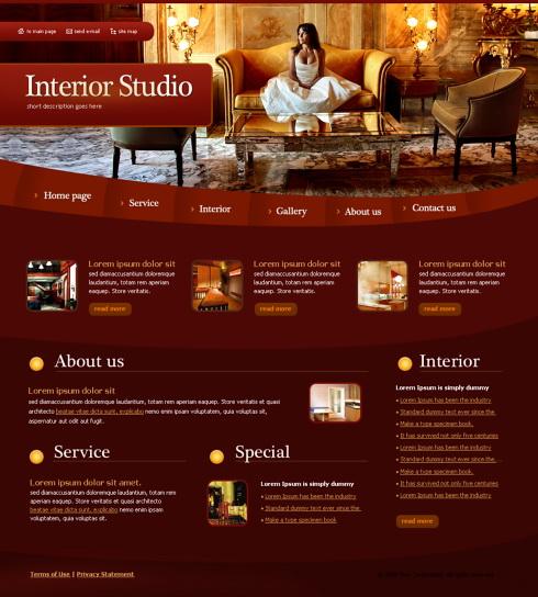 Realizare Site Online firma mobila, mobilier, design interior, amenjari interioare