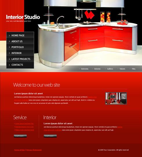 6118 interior furniture website templates for Interior furniture website