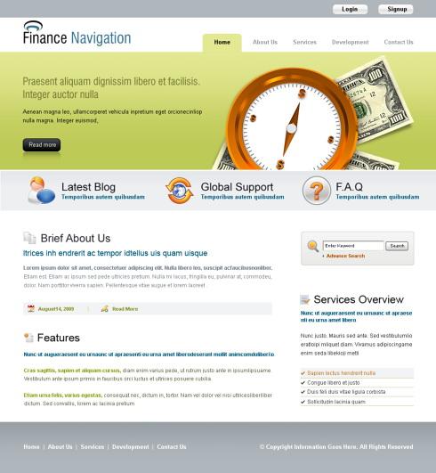 Propriul site web