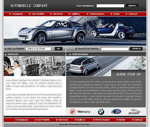 Realizare Site Online reprezenta auto