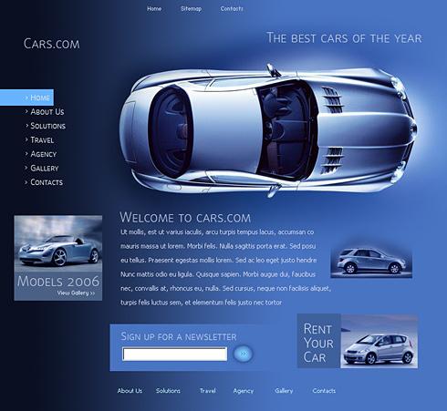 Creare site masini