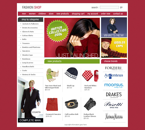 textură bună pantofi de separare design nou creare site magazin haine – Realizare Site Online | Web Design ...