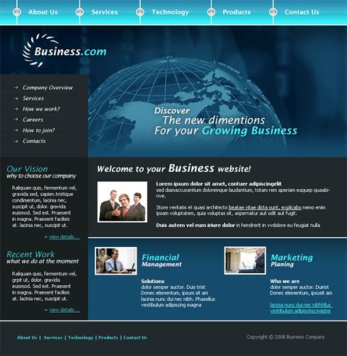 Relizare site afacerea ta