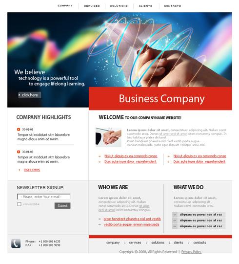 Pagini web propria ta afacere