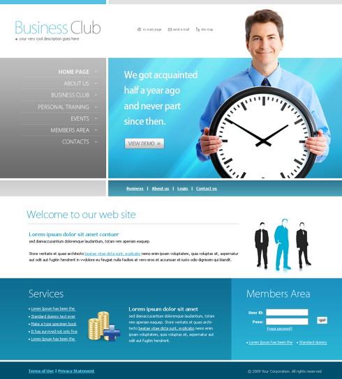 Pagini web afaceri