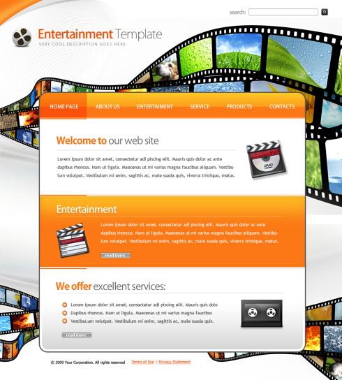 Propriul site de divertisment