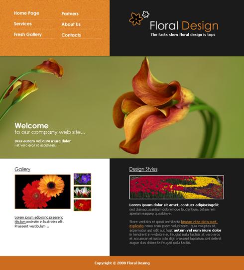 Realizare site florarie, realizare site amenajari gradini, realizare site amenajari spatii verzi
