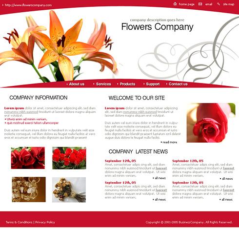 Creare site florarii