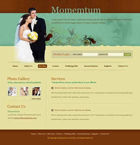 template momentum 6624