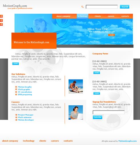 Template e-commerce