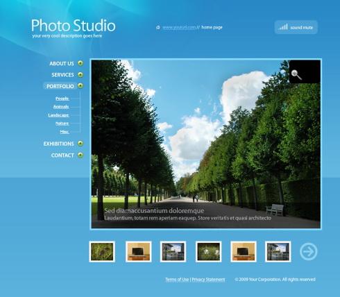Relizare site fotografi profesionisti, studio foto, fotografii