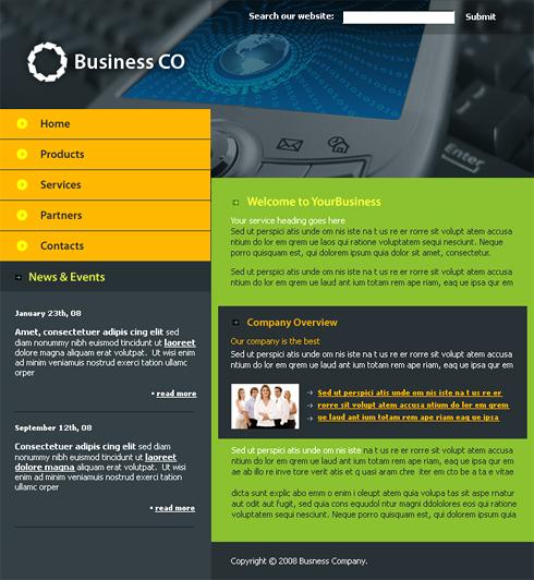 Web Design Ieftin site comunicatii, telefonie mobile, telefoane