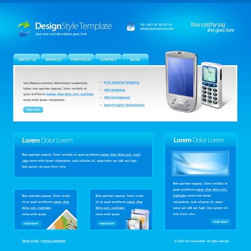 Relizare site telecomunicatii, telefonie, telefonie mobila