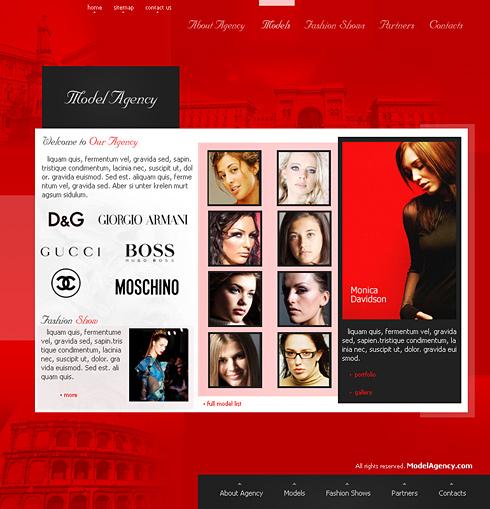 Creare site moda