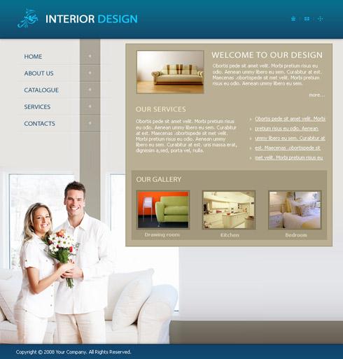 3640 interior furniture website templates for Interior furniture website