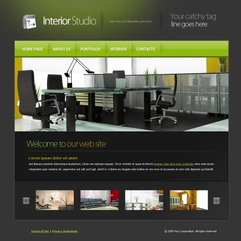 5965 interior furniture website templates