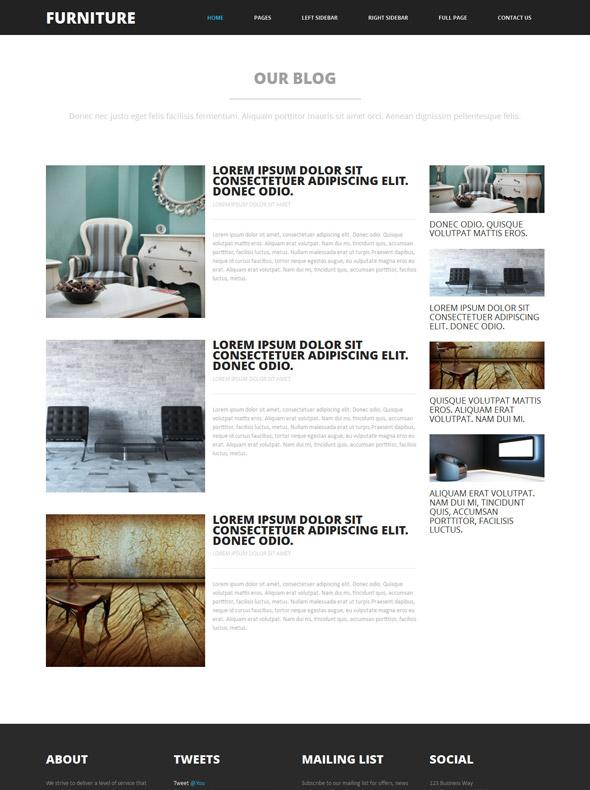 free furniture website template for 28 images et furniture free responsive furniture website. Black Bedroom Furniture Sets. Home Design Ideas
