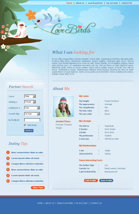 love birds dating site