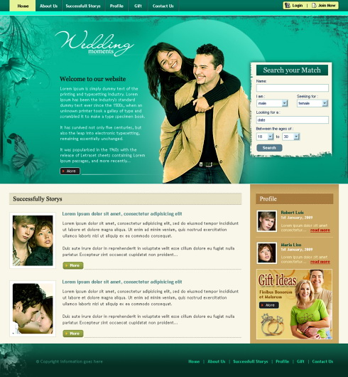 Create a dating site that will be profitable