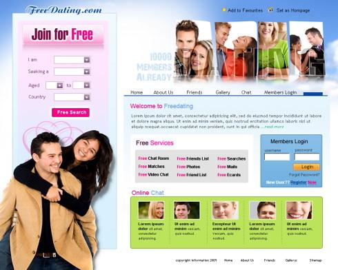 Kostenlose Online-Dating-Seite ohne Bezahlung